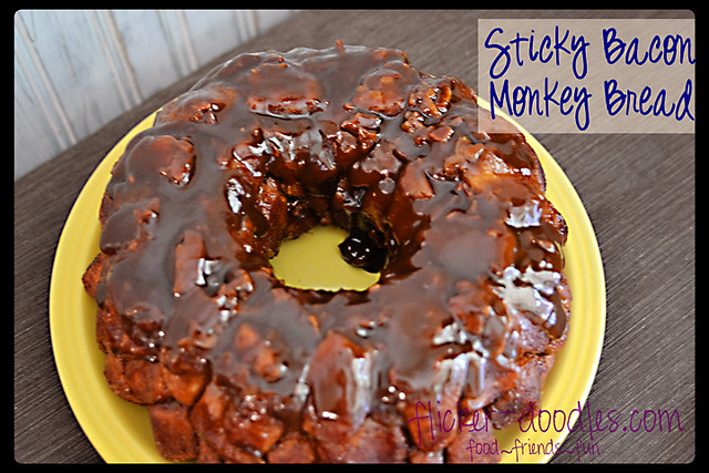Sticky Bacon Monkey Bread