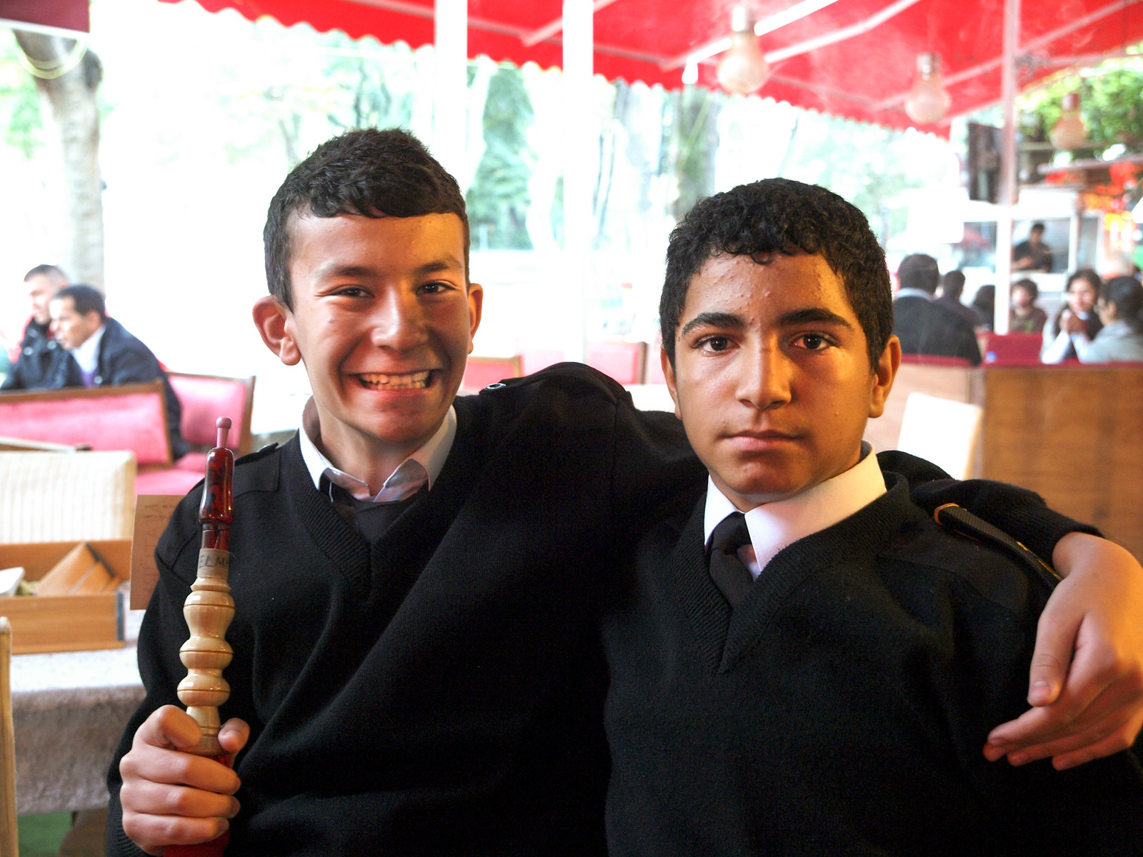 Portraits d'Istanbul - les apprentis marins
