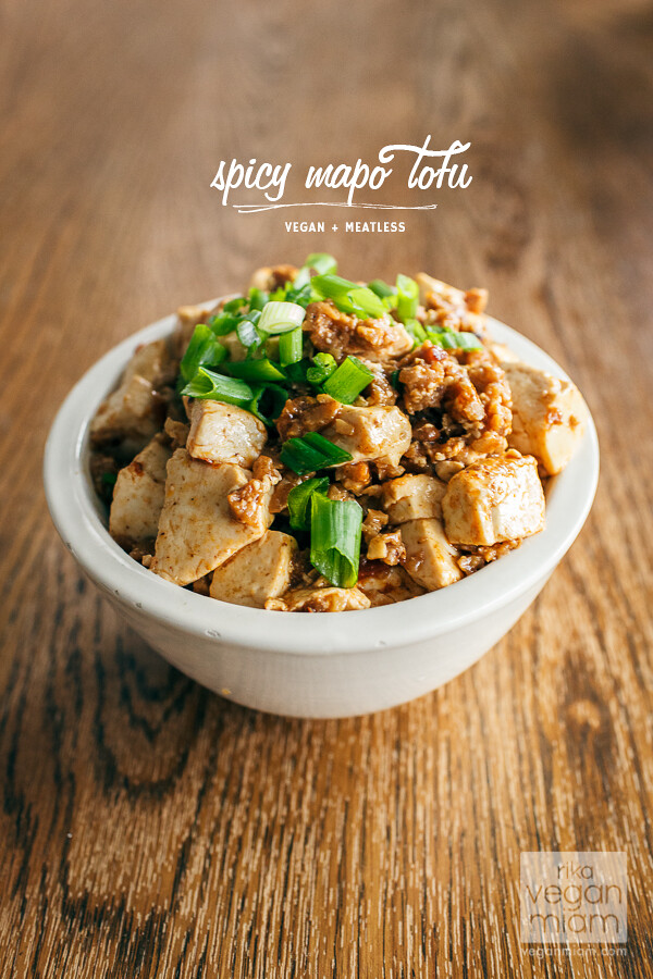 Vegan Spicy Mapo Tofu