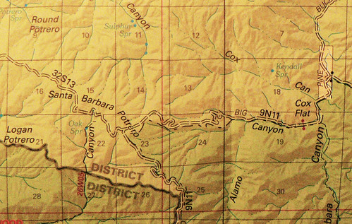 Santa Barbara Potrero 2012 Map
