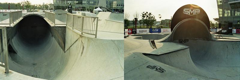 Cradle im SMP Skatepark Shanghai