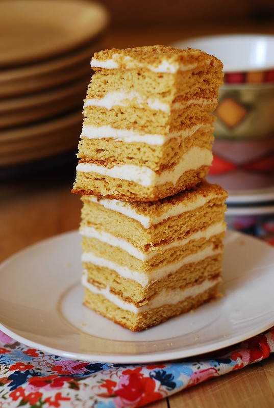 Honey cake - Medovik Tort - торт Медовик