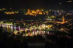 Heidelberg at night II