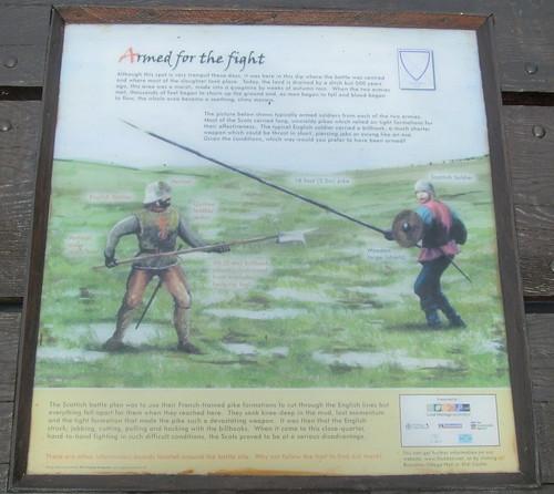 Flodden Information Board
