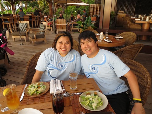 Me & Todd, Beach Tree Grill, Four Seasons Hualalai