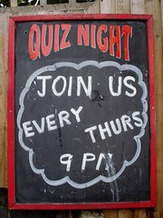 Picture of Category Pub Quiz On Thursdays