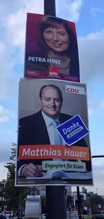 Petra Hinz (SPD) und Matthias Hauer (CDU)