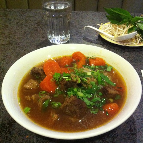 Beef Stew at Pho Delight #yegfood by raise my voice