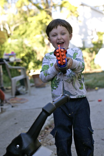Fun with nerf guns!
