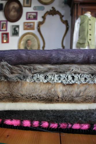 Stock de tissus pour manchons