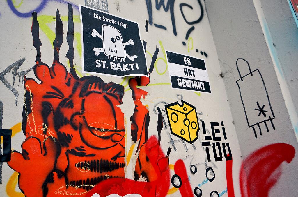 Straßengalerie Street Art Hamburg