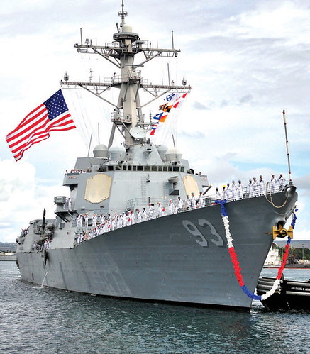 PEARL HARBOR - The guided-missile destroyer USS Chung-Hoon (DDG 93) returned to the ship's homeport of Joint Base Pearl Harbor-Hickam Oct. 1 following a six-month deployment to the Western Pacific.