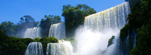 Awesome Waterfall Facebook Cover Photo