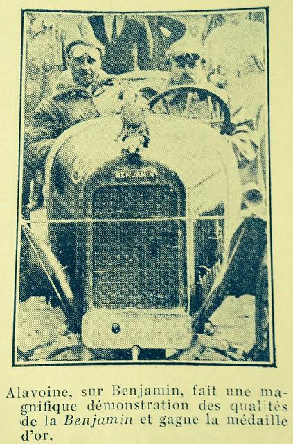 Benjamin Worksdriver Alavoine 1923