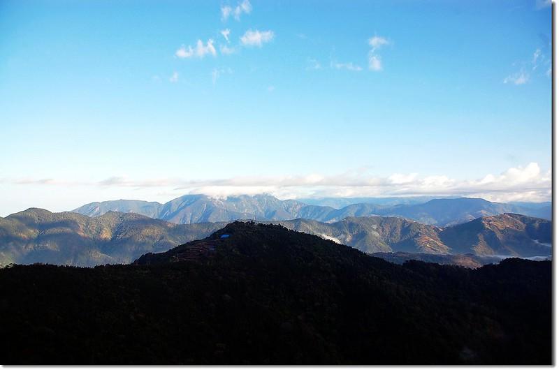 萬大林道俯瞰霧社方向 2