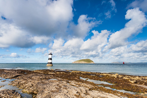 Penmon lighthouse Angelsey