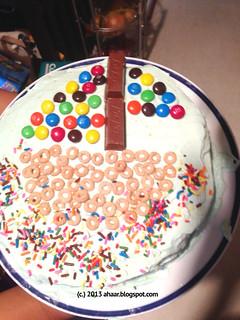 Cake sailing