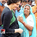Priyanka Gandhi visits Raebareli, interacts with people 09