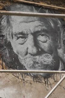 Albert Schweitzer, painted portrait DDC_9010