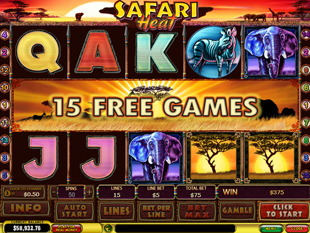 Free Slot Game Safari Heat