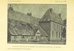 """British Library digitised image from page 291 of """"Histoire de Fécamp illustrée"""""""