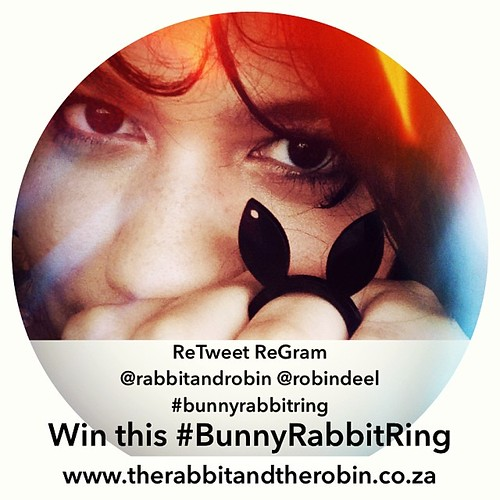 ReTweet ReGram @rabbitandrobin  @robindeel #bunnyrabbitring WIN this BunnyRabbitRing www.therabbitandtherobin.co.za {follow me @robindeel on Instagram} Official @rabbitandrobin  #ring #jewelry #custom #design #cute #win #repost #retweet #regram