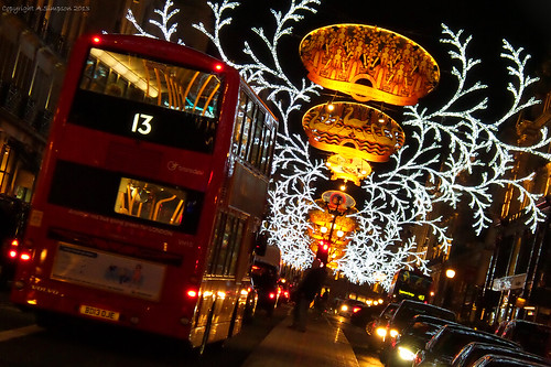 Regent Street Christmas Lights - London
