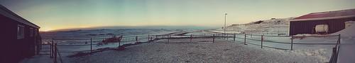sunrise iceland panoramas hestheimar