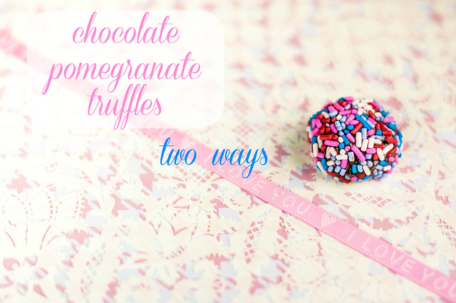chocolate pomegranate truffles in_the_know_mom