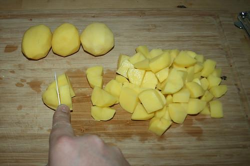 42 - Kartoffeln würfeln / Dice potatoes