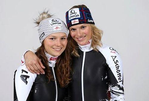 Bernadette and Marlies Schild