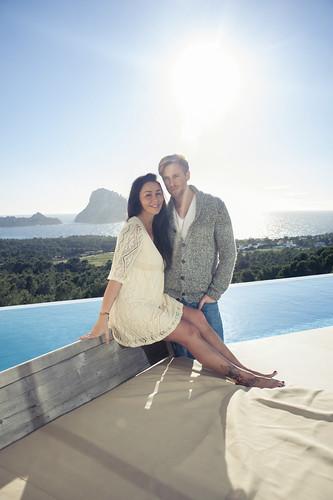 Ibiza living: Emma, Garry, Maya & Noah