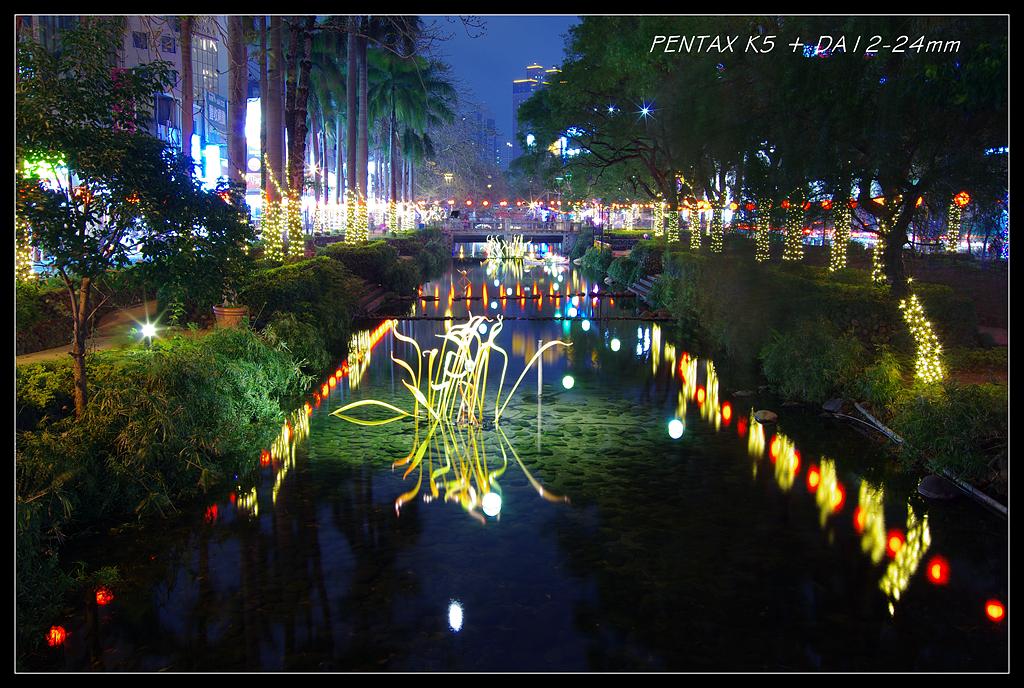 一張流... 新竹護城河 (其實是因為電池沒電...)