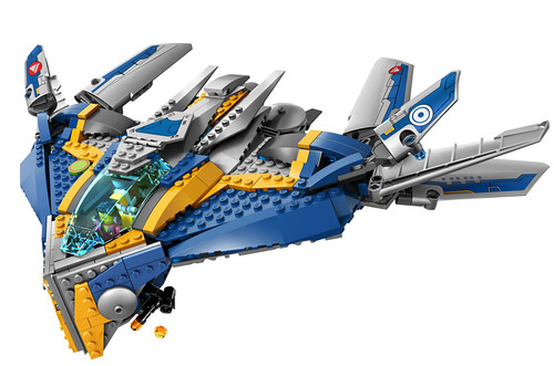LEGO Guardians of the Galaxy The Milano Spaceship Rescue (76021)