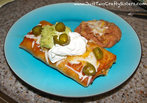 Amazing shredded beef chimichanga recipe