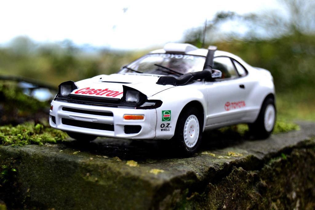 Toyota Celica ST185 Test Rally Car. - Under Glass - Model Cars ...