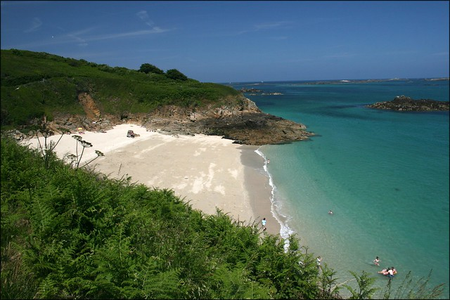 Belvoir Bay, Herm Island
