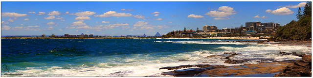 Caloundra Beach Panorama