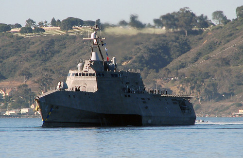 The littoral combat ship USS Coronado (LCS 4) arrived at its new homeport of San Diego March 10, a few weeks ahead of her commissioning ceremony scheduled for April 5 at Naval Air Station North Island.
