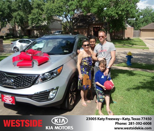 #HappyBirthday to Mark Durbridge from Baez Orlando and everyone at Westside Kia! by Westside KIA
