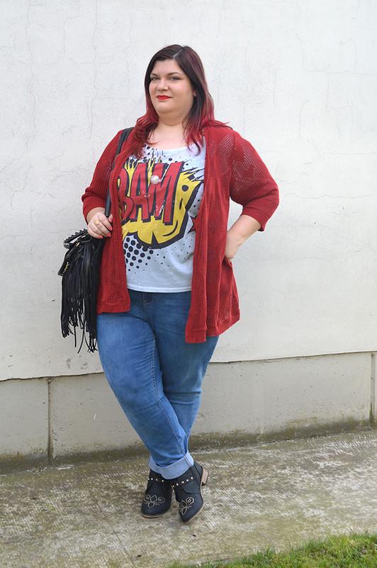 outfit jeans e bordeaux4