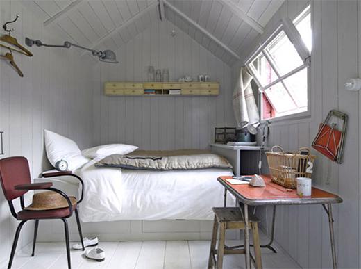 small room inspiration, attic room ideas