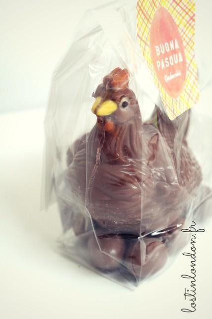 chocolate hen carluccio's easter