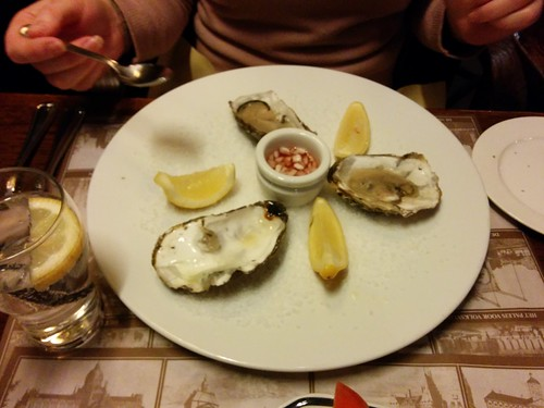 The very first oysters of Kate