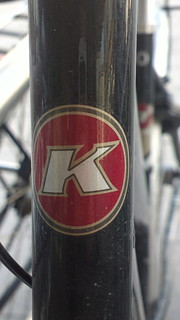 Kalkhoff (Germany) bicycle head badge logo
