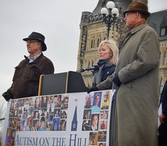 Minister Candice Begen, Autism on the Hill