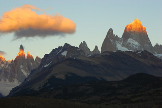 First Light on FitzRoy