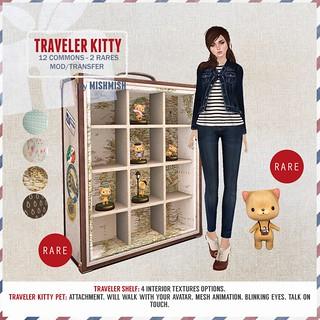 Traveler Kitty - The Rares