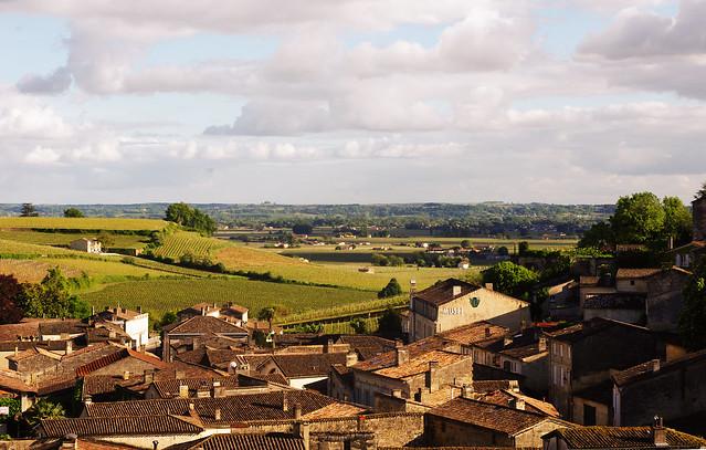 Panoramique sur Saint Emilion
