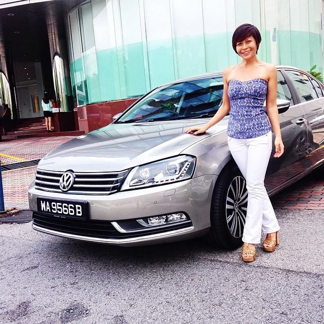 Volkswagen Passat review Malaysia - REbecca saw